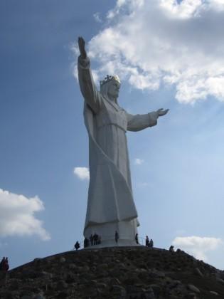 Skala monumentu jest niesamowita