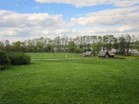 Panorama Ostrowa Lednickiego - część północna