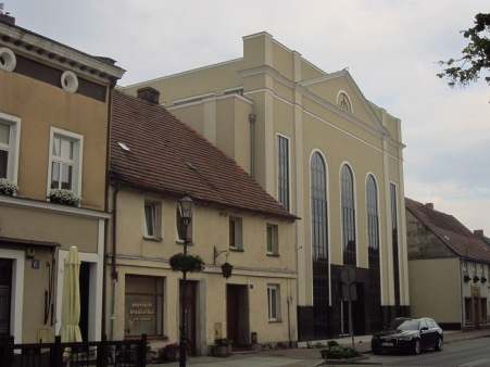 Dawna synagoga, a obecnie... pasaż handlowy
