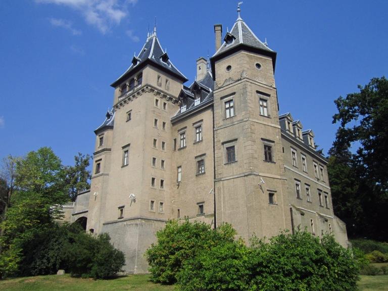 Równie bajkowy zamek w Gołuchowie