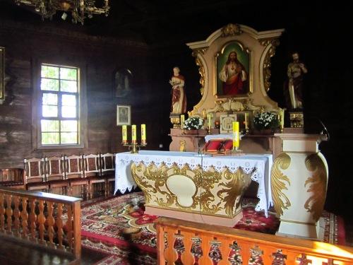 Główny ołtarz w Rejowcu