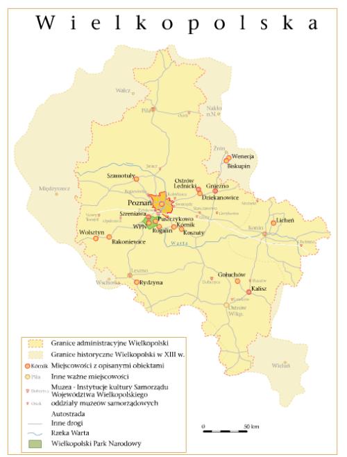 mapa kultour