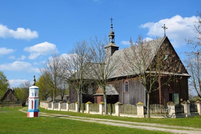 Kościół w Skansenie w Dziekanowicach